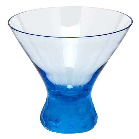 Moser Barware Barware - Pebbles Martini 8.5 Oz. Stemless - Aquamarine $150.00