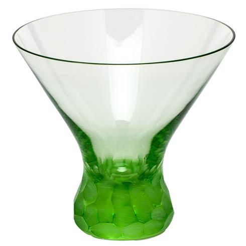Moser Barware Pebbles Martini 8.5 Oz. Stemless - Ocean Green $150.00