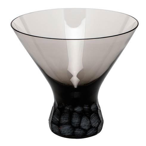 Moser Barware Pebbles Martini 8.5 Oz. Stemless - Smoke $150.00