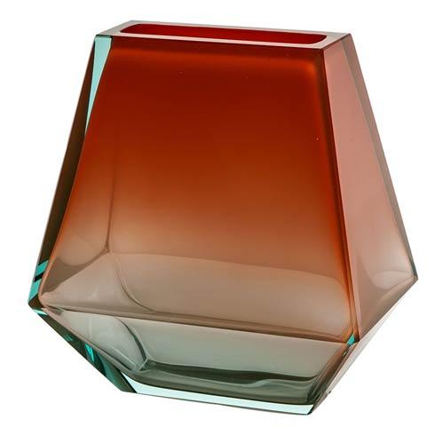 """$2,100.00 Vase 9.8"""" H Beryl & Orange"""