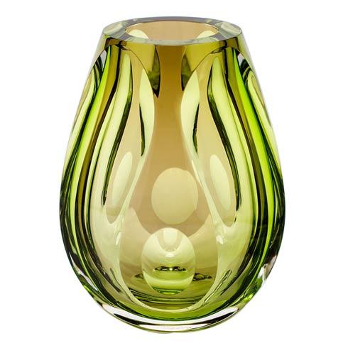 """$3,000.00 Vase 7.9"""" H Alexandrite & Aurora & Blue"""