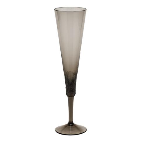Moser Stemware Pebbles Champagne 5.8 Oz. Smoke $150.00