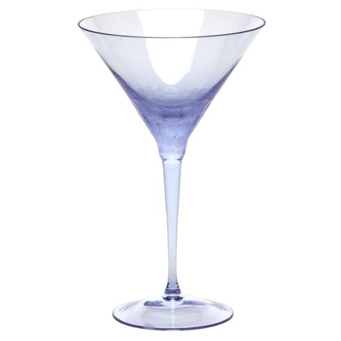 Moser Stemware Stemware - Pebbles Martini 8.8 Oz. Alexandrite $150.00