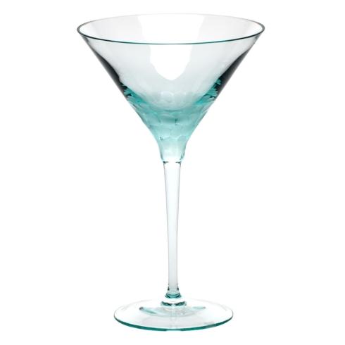 Moser Stemware Stemware - Pebbles Martini 8.8 Oz. Beryl $150.00