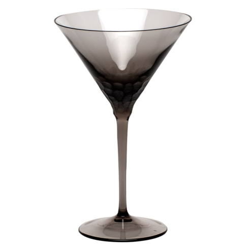 Moser Stemware Stemware - Pebbles Martini 8.8 Oz. Smoke $150.00