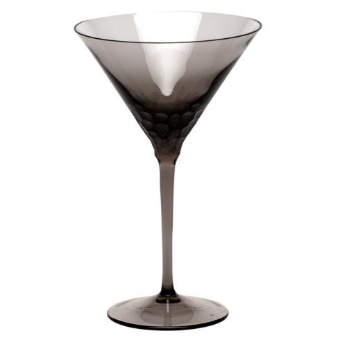 Moser Stemware Pebbles Martini 8.8 Oz. Smoke $150.00