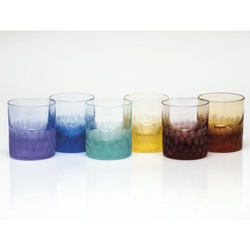 D.O.F. 12.5 Oz. Set/6 Rainbow Colors image