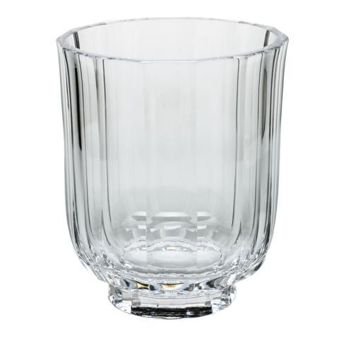 "$885.00 Vase 7.9"" H. Clear"