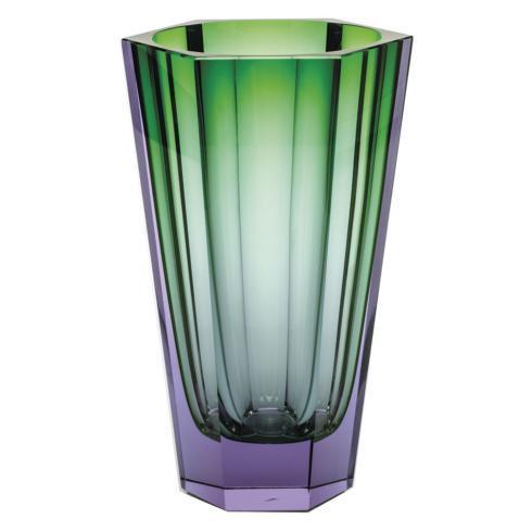 """$2,245.00 Purity Vase 11"""" H Alexandrite/Green"""
