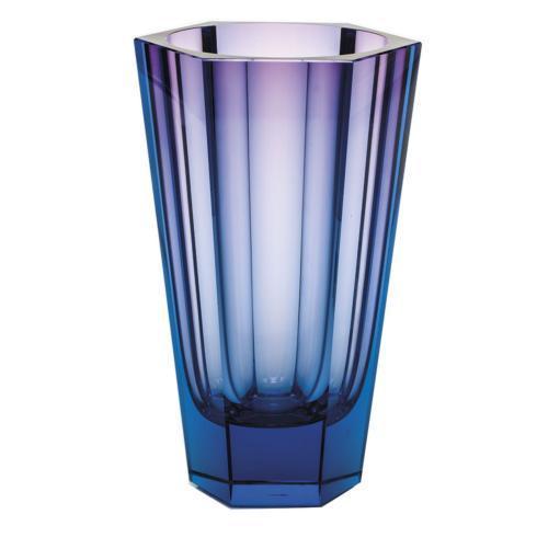 """$2,245.00 Purity Vase 11"""" H Aquamarine/Rose"""