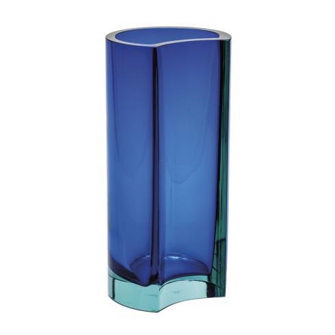 "$2,800.00 Vase 11.8"" H Beryl & Blue"