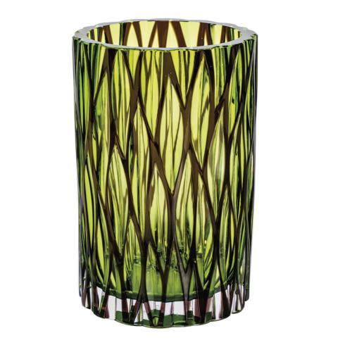 "$4,700.00 Wood Vase 8.6"" H"