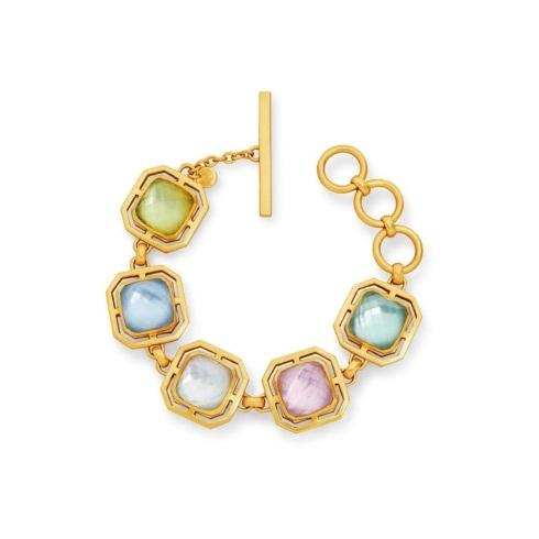$375.00 Julie Vos Geneva Bracelet, multi-colored