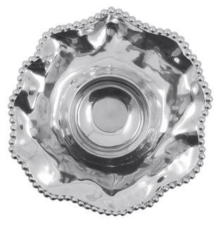 Mariposa  String of Pearls Pearled Wavy Chip & Dip $135.00