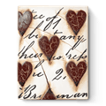 $109.00 Red Hearts with Script