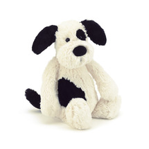 Bashful Black & Cream Puppy, medium collection with 1 products