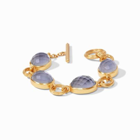$325.00 Barcelona Bracelet, Slate Blue