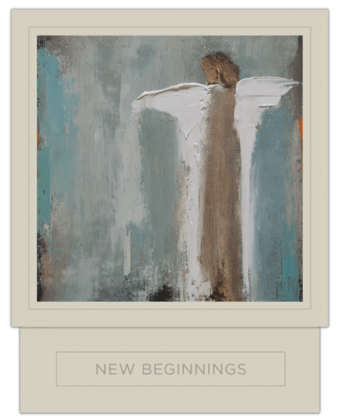 $55.00 New Beginnings Candle