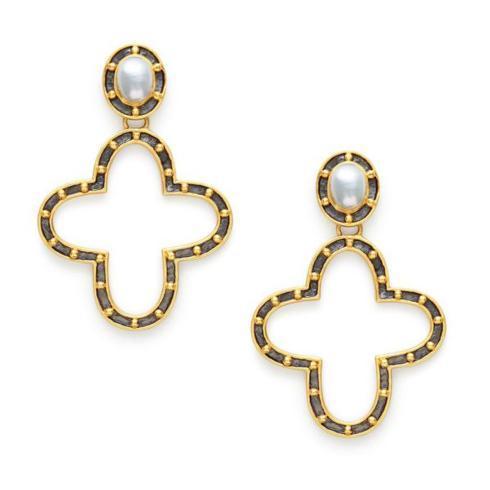 $175.00 Caspian Statement Earrings, Pearl