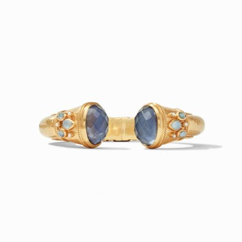 $345.00 Cassis Hinged Cuff, Slate Blue