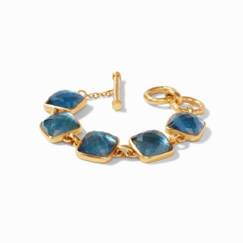 $375.00 Catalina Bracelet, Azure Blue