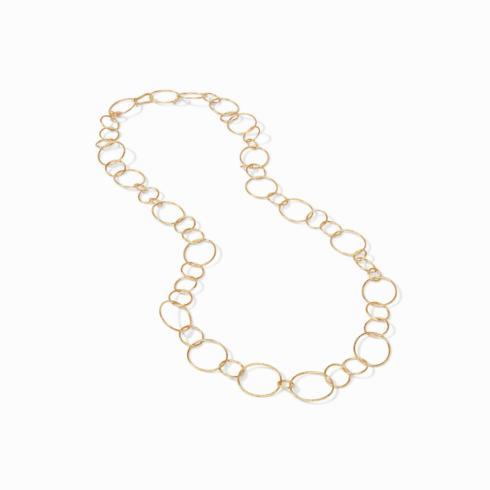 $198.00 Colette Textured Necklace