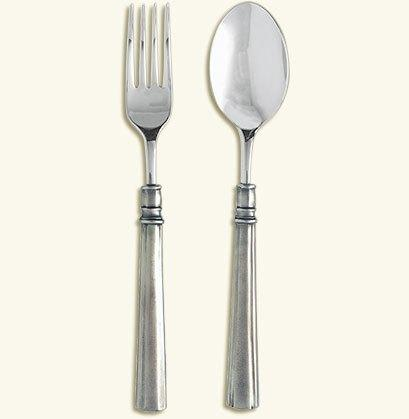 $185.00 Lucia Serving Fork and Spoon