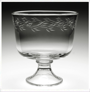 $226.00 Garland Footed Trifle Bowl