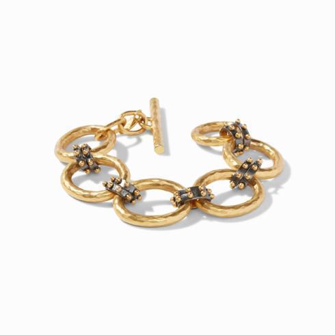 $295.00 Grande SoHo Link Bracelet, Mixed Metal