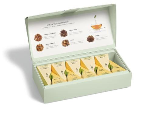 $20.00 Green Tea Assortment Petite Presentation Box