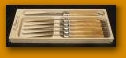 $86.95 Olive Wood Steak Knives, set of 6