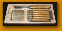 Laguiole   Olive Wood Spreader/Butter Knives $75.95