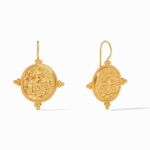 $95.00 Quatro Coin Earring