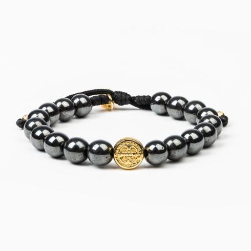 $59.00 Strength Hematite Power Bracelet