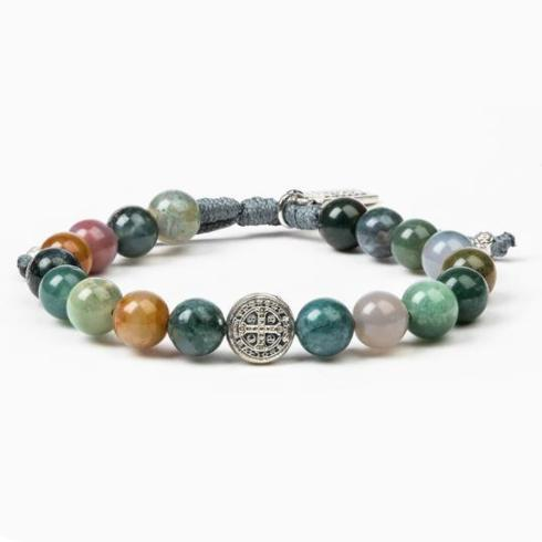 $59.00 Luck agate power bracelet