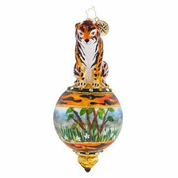 $76.00 Eye of the Tiger Ornament