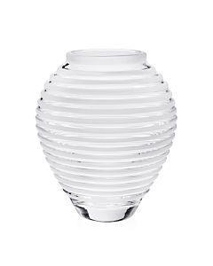 "$395.00 Circe Vase Frost, 11"""