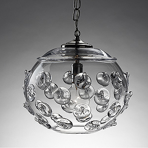 Small Florence Globe Pendant 7.5