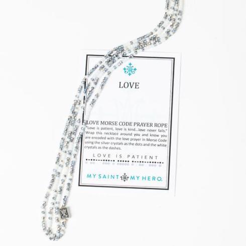 $60.00 Love Morse Code Prayer Rope