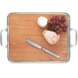 Cheese Tray w/handles, insert, medium collection with 1 products
