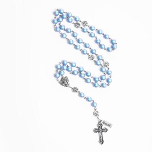 Rosary of Love , light blue collection with 1 products