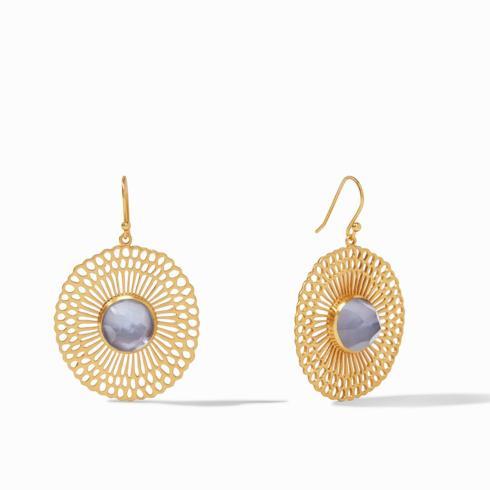 $145.00 Soleil Earring, Slate Blue