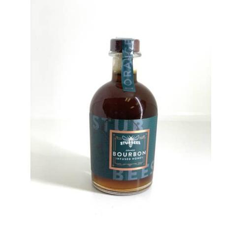 $24.95 Stubbees Orange Bourbon Infused Honey
