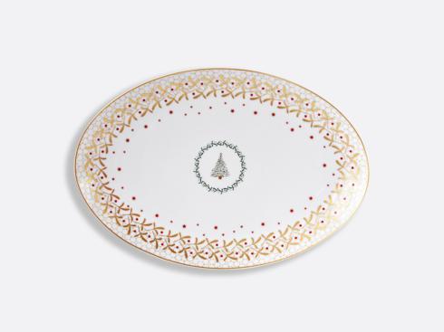 """Bernardaud  Noel Oval Platter 15"""" $349.00"""