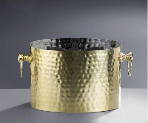 $105.00 2 Bottle Cooler, Brass