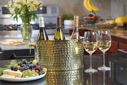 My Favorite Things Exclusives  Chic Chill 3 Bottle Cooler, Brass $132.00