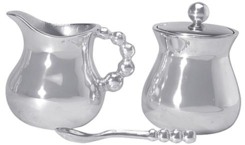 Mariposa  String of Pearls Cream and Sugar Set $84.00