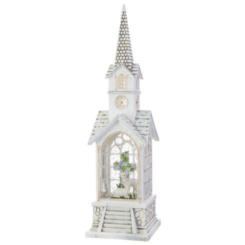 $49.20 Easter Lamb Lighted Church