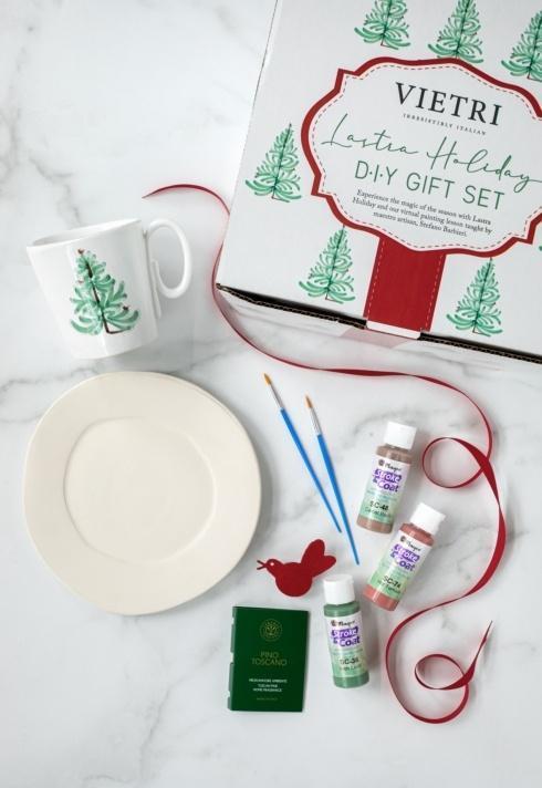 $75.00 Vietri Lastra Holiday Artisan DIY kit