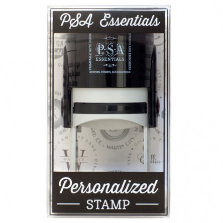 $48.00 Self Inking Peel and Stick Address Stamp
